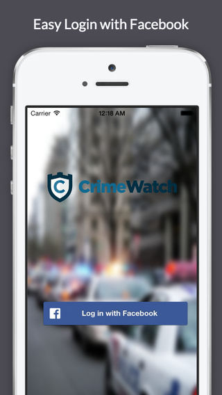 CrimeWatch - Report Crimes Now