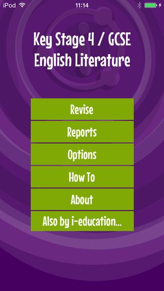 I Am Learning: GCSE English Literature