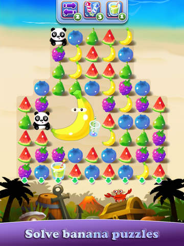 Fruit Panda Juicy Match Mania
