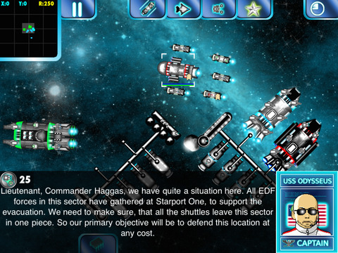 Screenshot #2 for Space Borders: Alien Encounter