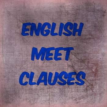 English Meet Clauses LOGO-APP點子