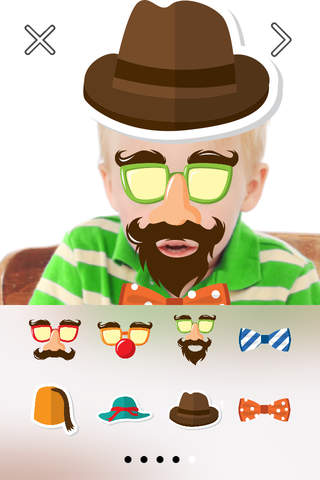 Funny Face FREE Photo Stickers App screenshot 1