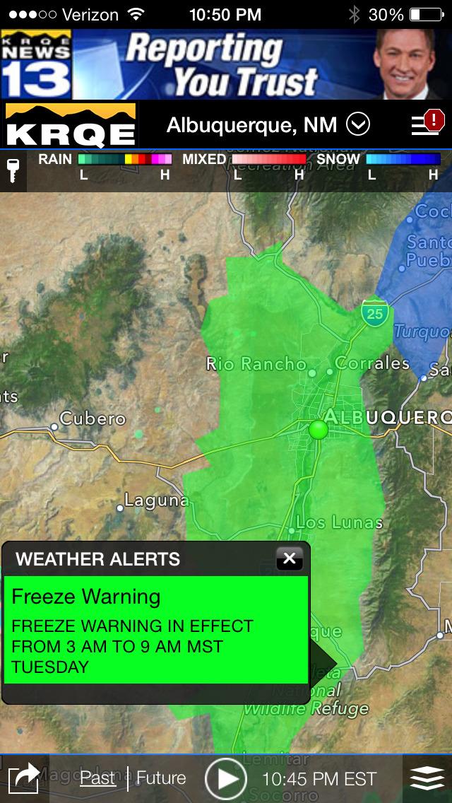 KRQE Weather - Albuquerque Radar & Forecasts