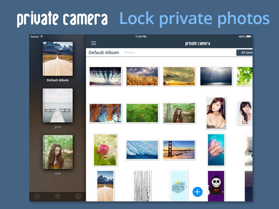 Private Camera - Photo vault & manager, video photo safe app, lock hide secret photos and private folder with password - iPhone Mobile Analytics and App Store Data