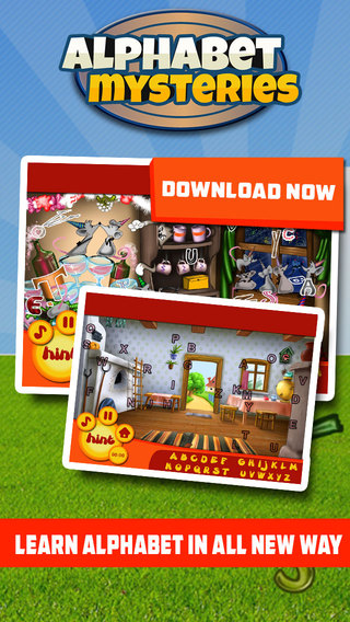 Alphabet Mysteries Free - Learn Alphabets with Hidden Objects