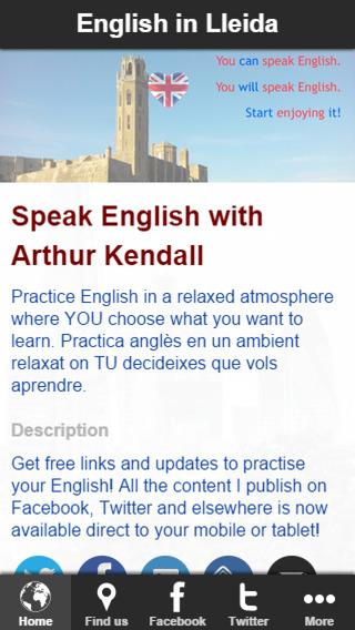 English in Lleida