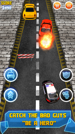 Action Star Chase - Mad Cop Rush Craze