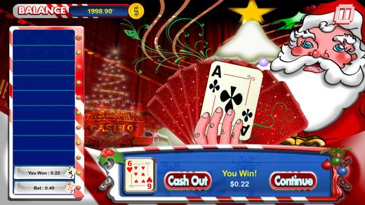 Hi Lo Holiday - Christmas Casino