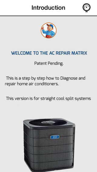 AC Repair Matrix
