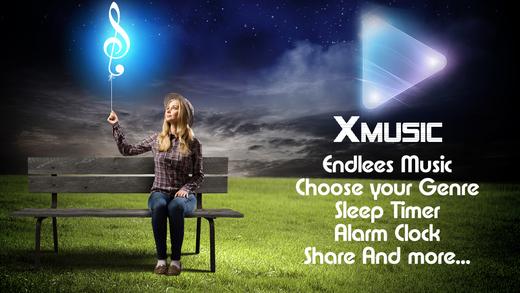 XMusic - Free Mobile Music Player with the best songs DJ playlists streaming from internet stations