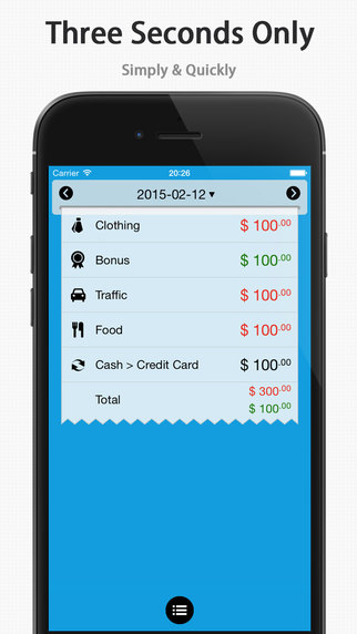 DayCost - Personal Finance Money Manager Income Expense Budget