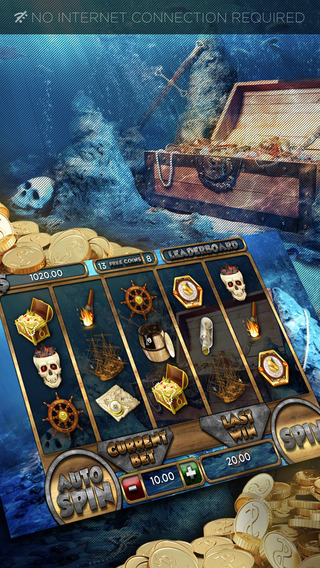 Pirate Curses Slots - FREE Las Vegas Casino Spin for Win