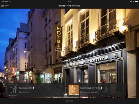 Hotel Saint-Honoré Paris for iPad