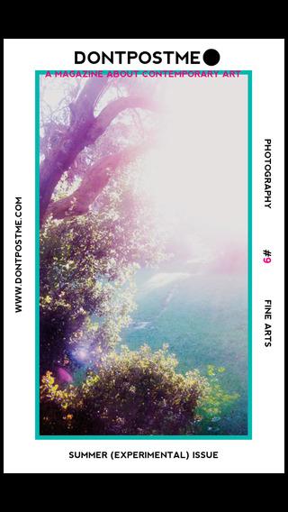 DONTPOSTME Magazine