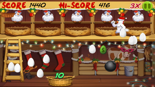 Angry Chicken Christmas