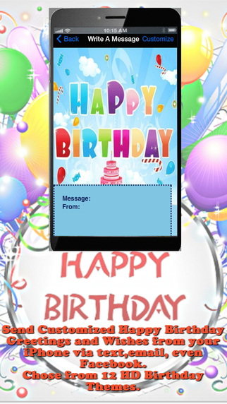 Quick Birthday Wishes Messenger