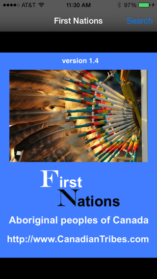 First Nations Canadian Native Aboriginal Tribes