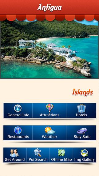 Antigua Island Offline Travel Guide