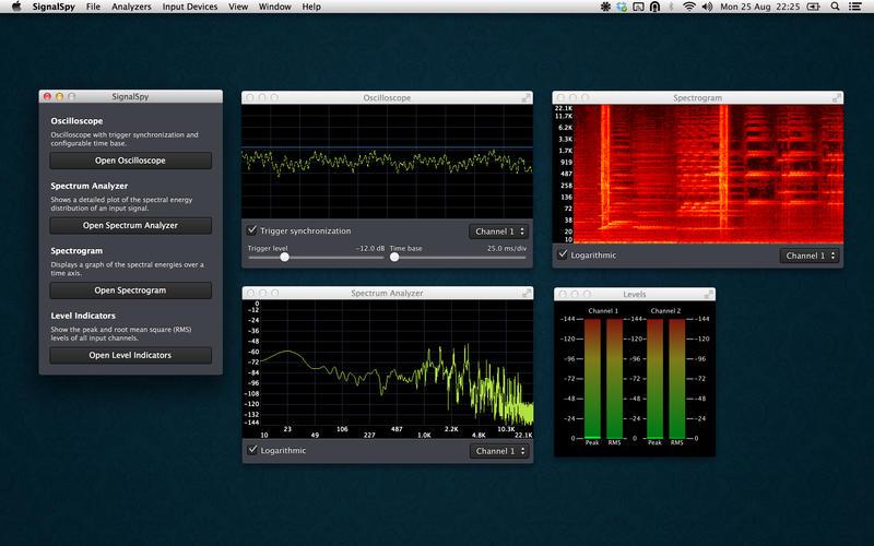 SignalSpy Screenshot - 1
