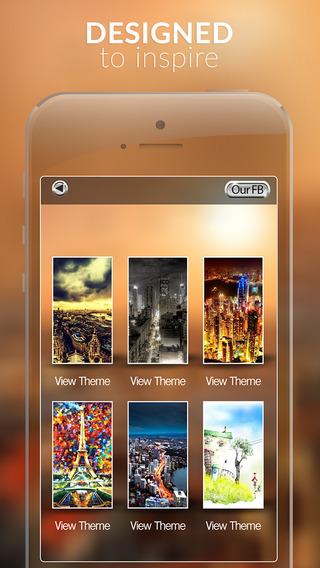 Beautiful City and Building Gallery HD - Retina Wallpaper Themes and Backgrounds for IOS 8