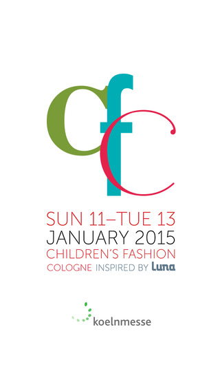 CFC Winter 2015 - Children's Fashion Cologne