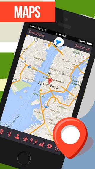 GPS Navigation for Google Maps.