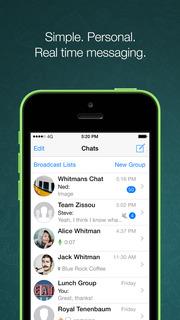 Screenshot #1 for WhatsApp Messenger