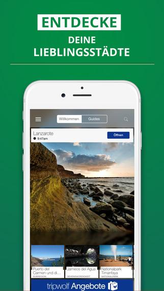 Lanzarote - dein Reiseführer mit Offline Karte von tripwolf Guide für Sehenswürdigkeiten Touren und