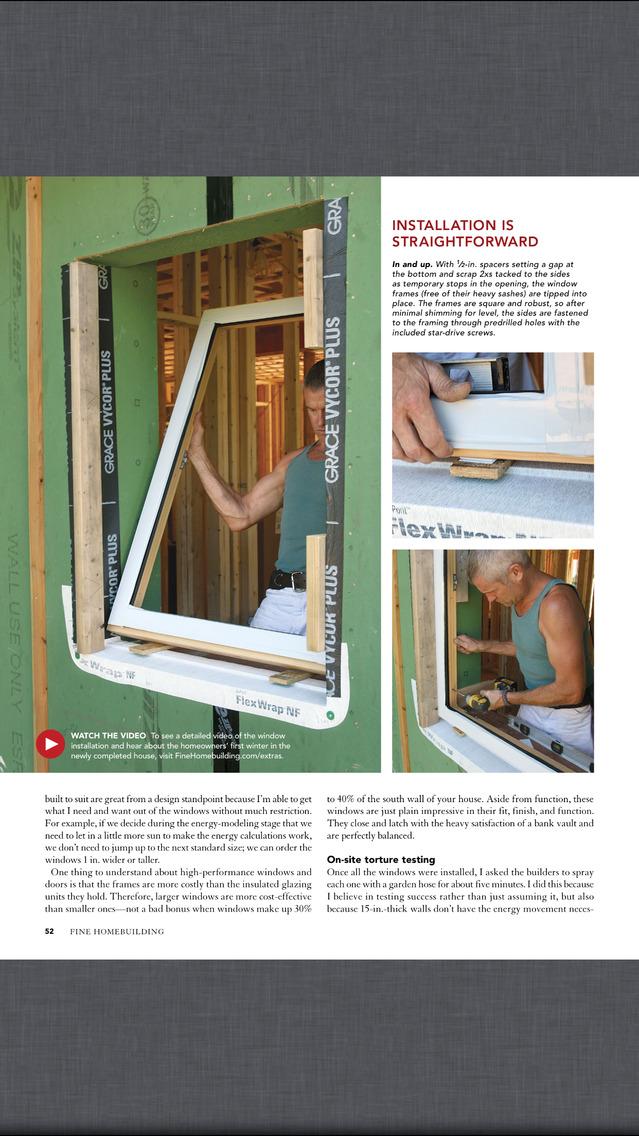 Fine homebuilding magazine app download android apk for Homebuilding com