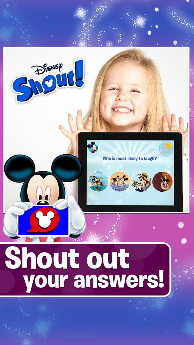 Disney Shout!  Screenshot