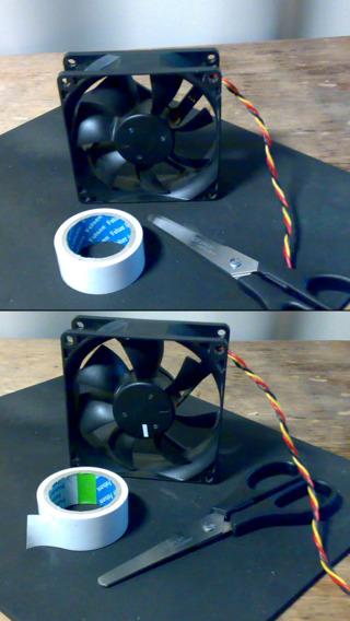 Strobe light tachometer RPM meter