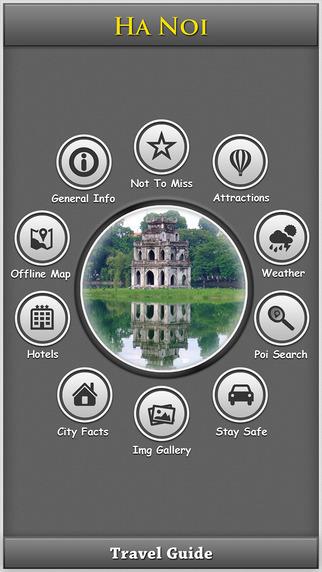 Ha Noi Offline Map Travel Explorer