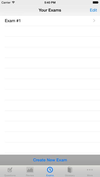 Real Estate Broker Exam High Score Kit - Premium Edition iPhone Screenshot 4