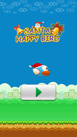 Santa Happy Bird Run - fun free games for boys girls
