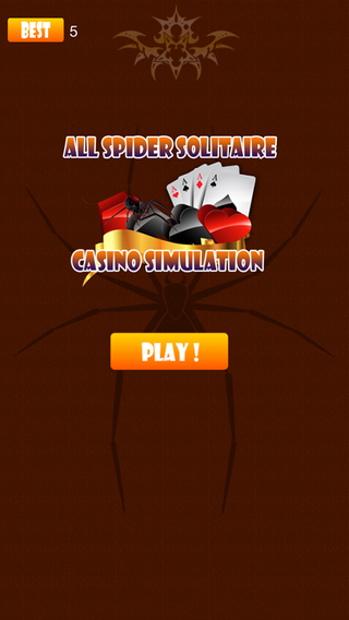 All Spider Solitaire Casino Simulation Pro