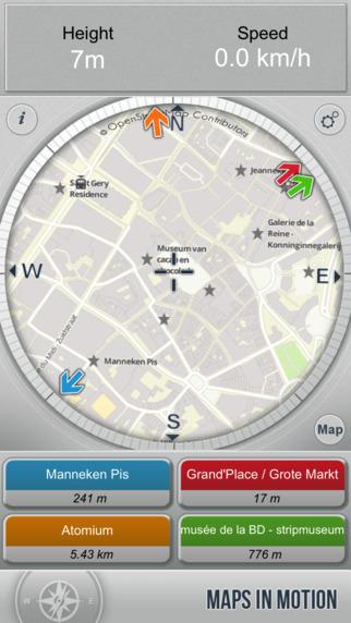 Brussels On Foot : Offline Map