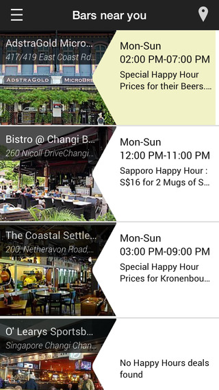 Happy Hour SG - The Best Bars Happy Hour Deals in Singapore