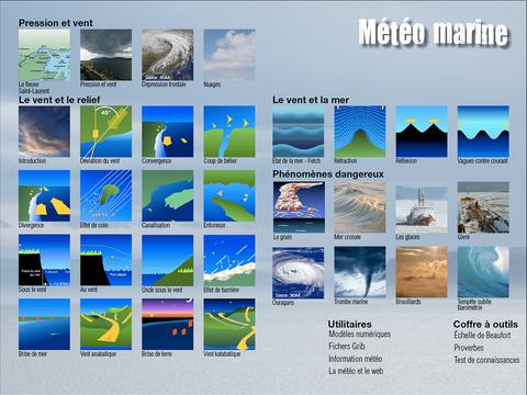 Guide de météo marine