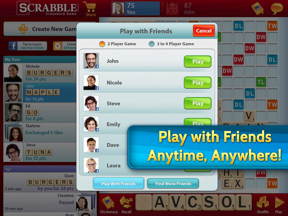 SCRABBLE Free - iPhone Mobile Analytics and App Store Data