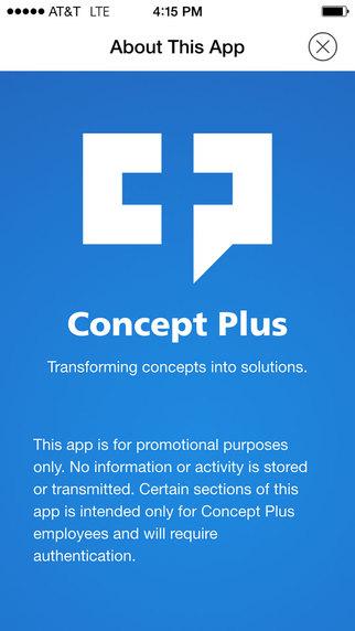 Concept Plus Mobile App