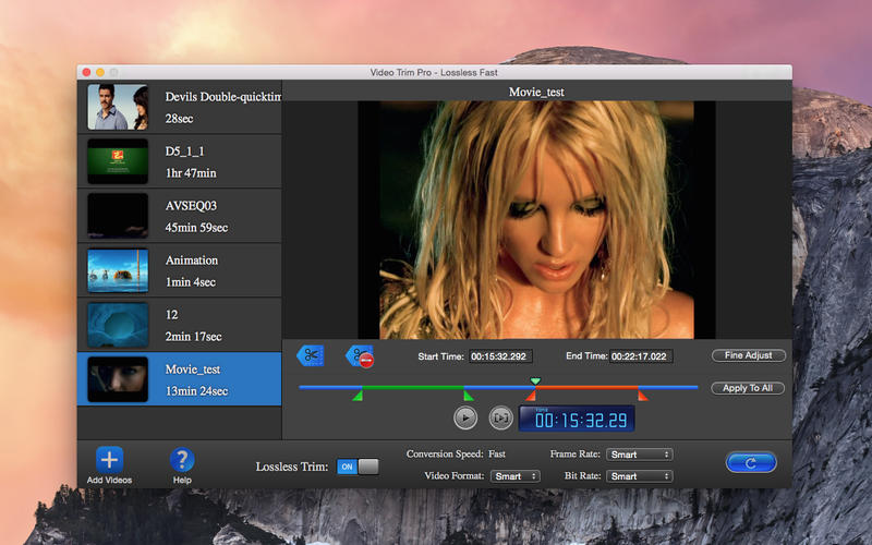 Video Trim Pro - Lossless Cut Lite Screenshot - 1