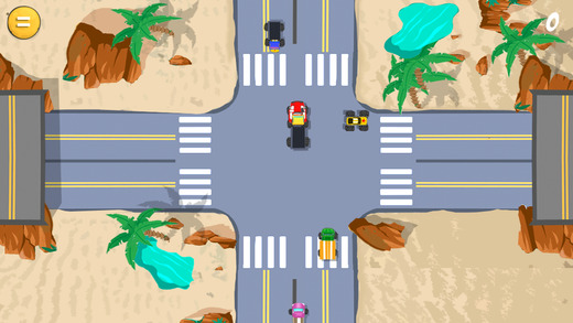 Trucker Traffic - Big Rig Wheels Desert Highway Sim