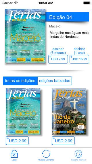Revista Férias no Brasil