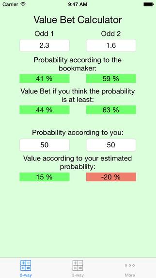 Value Bet Calculator