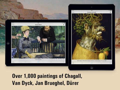 European painting HD. Скрин 1