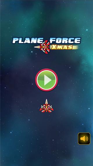 A¹A Plane Force Xmas -Infinite Sky Fighter Flight Racing