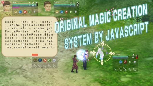 《华丽的3D RPG游戏 - 源代码之心 The Heart of SOURCERER 1 [iOS]》