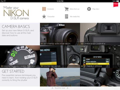 玩免費攝影APP|下載Master your Nikon D-SLR camera app不用錢|硬是要APP