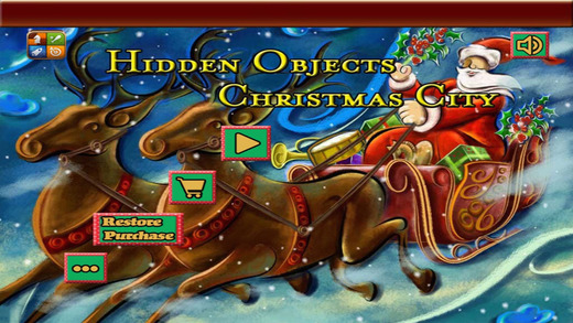 Hidden Object Christmas City