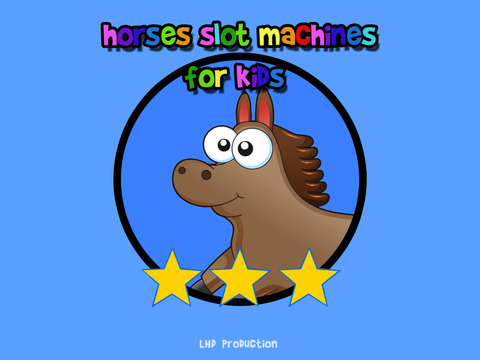 Horses slot machines for kids vip iPad Screenshot 1